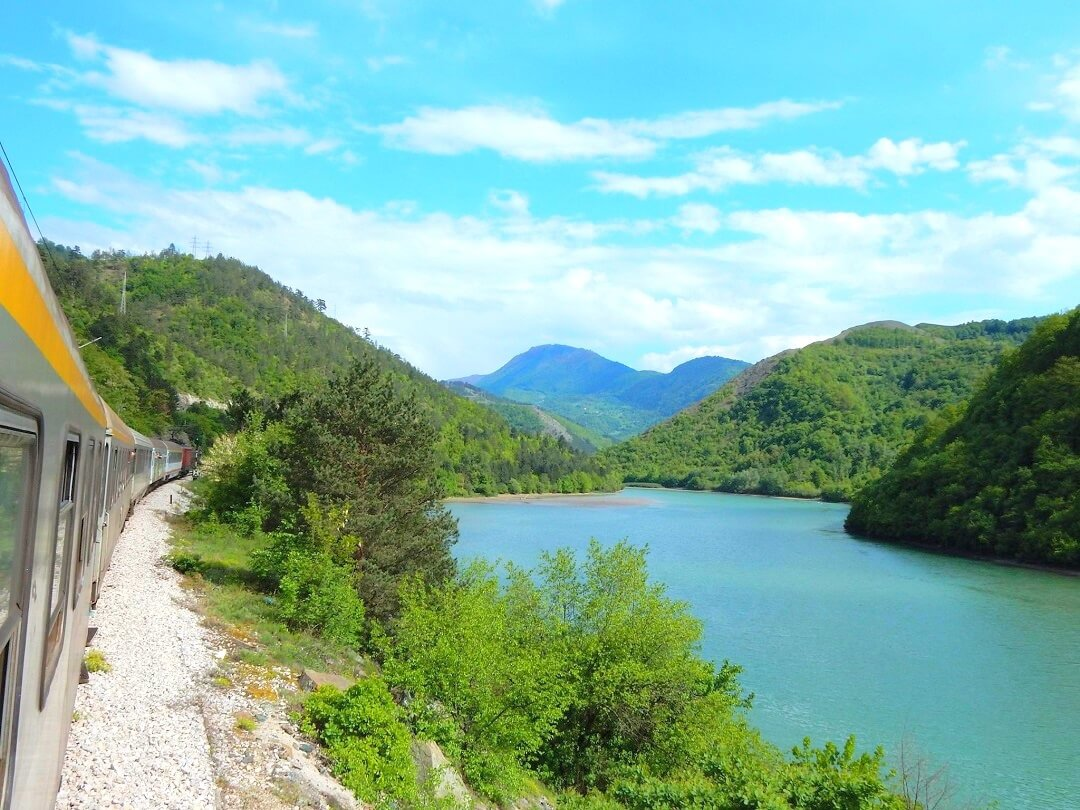 30 Days, 30 Countries - #17 - Another view on the train from Belgrade to Podgorica