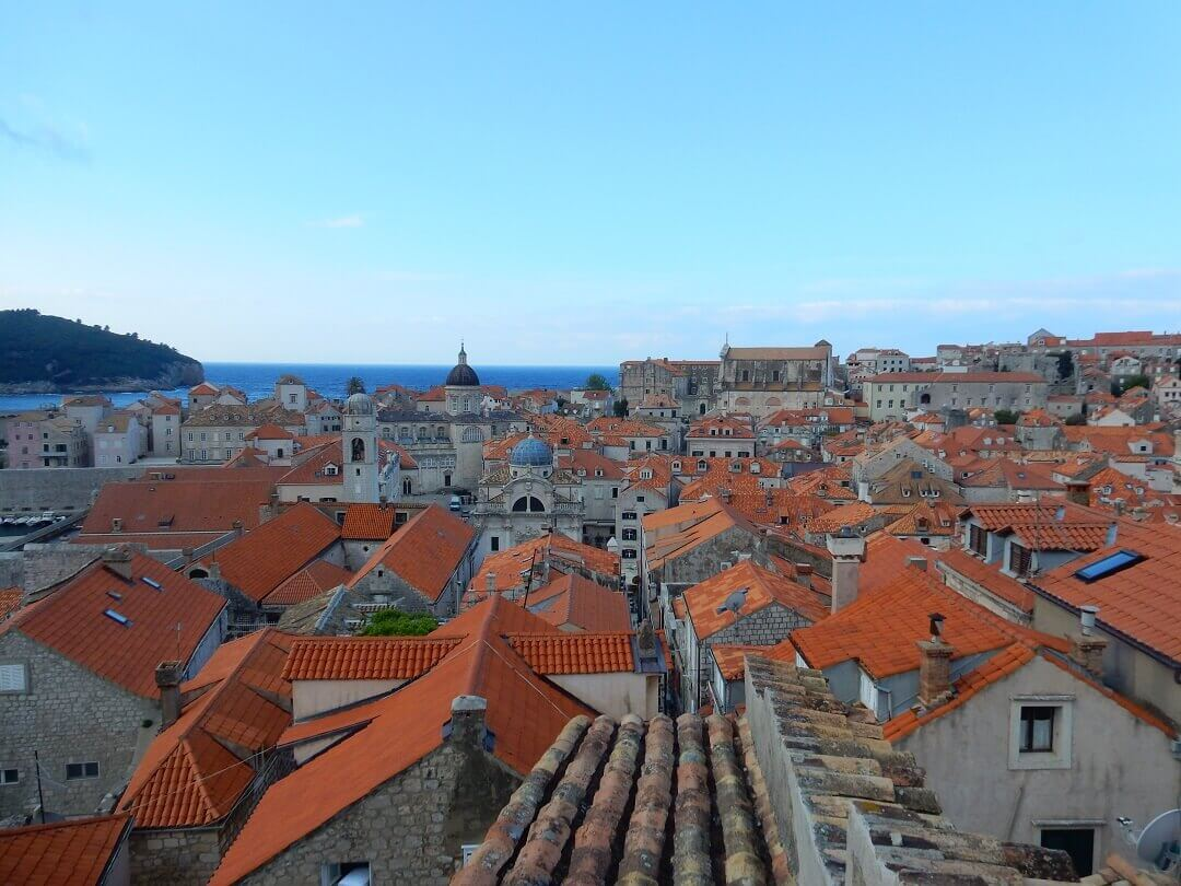 1 - Dubrovnik by train - Dubrovnik Old Town