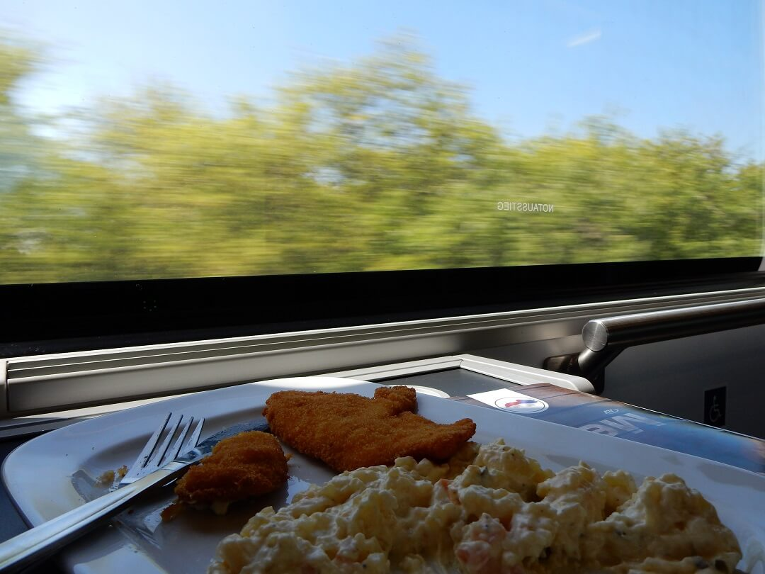 Interrail reservations in Austria - Food, View and Relaxation