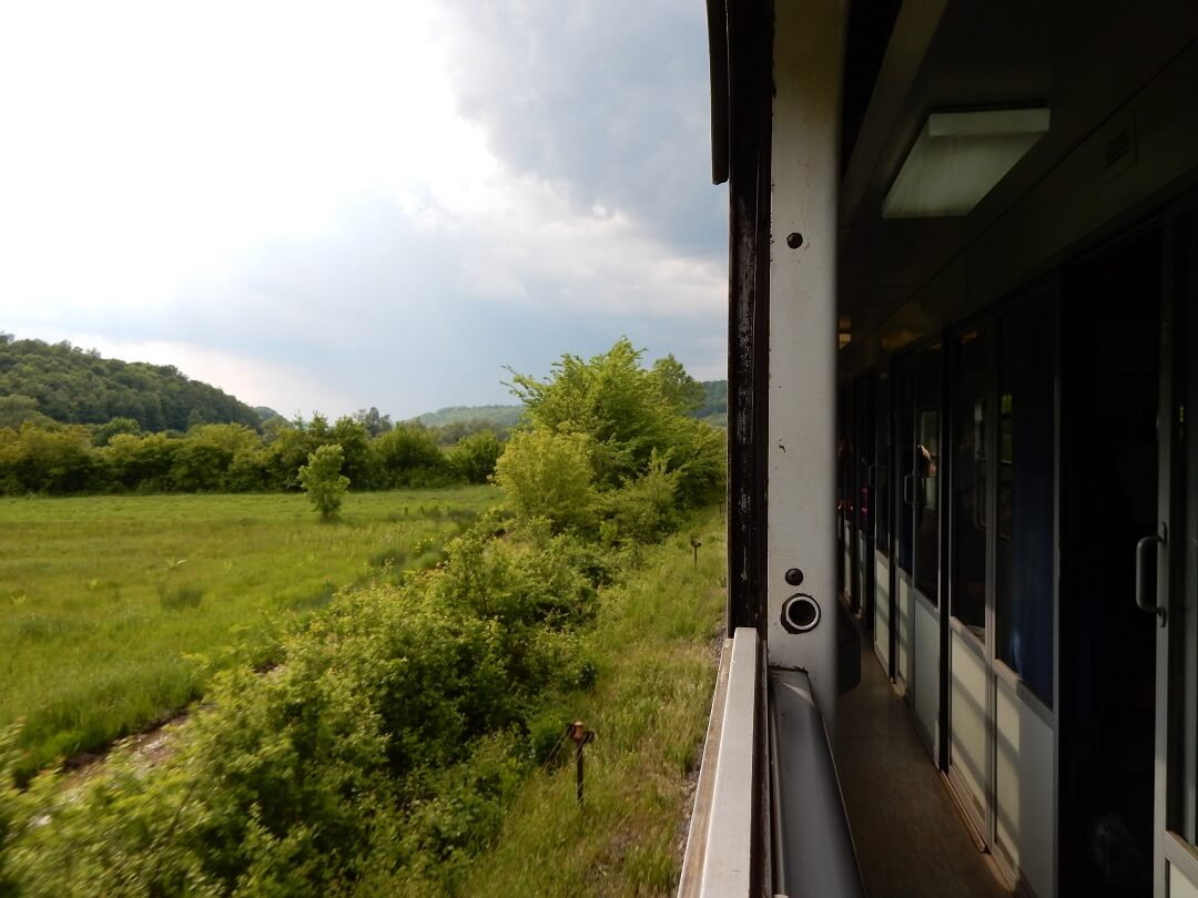 Interrail reservations in Bosnia and Herzegovina - View from the train