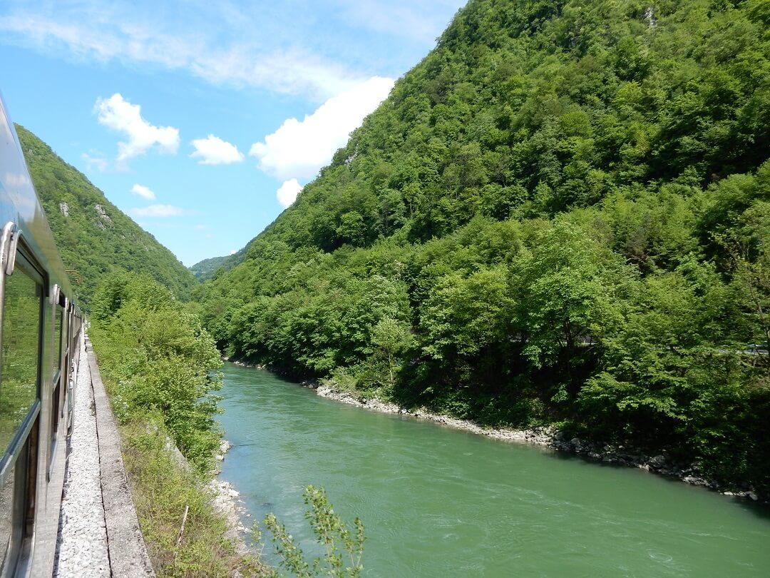 Interrail reservations in Croatia - The river Sava