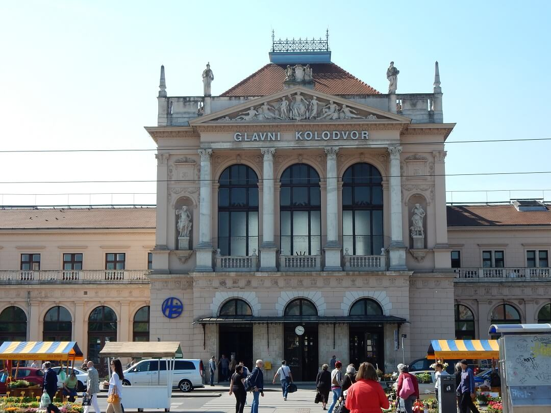 Interrail reservations in Croatia - Zagreb Train Station