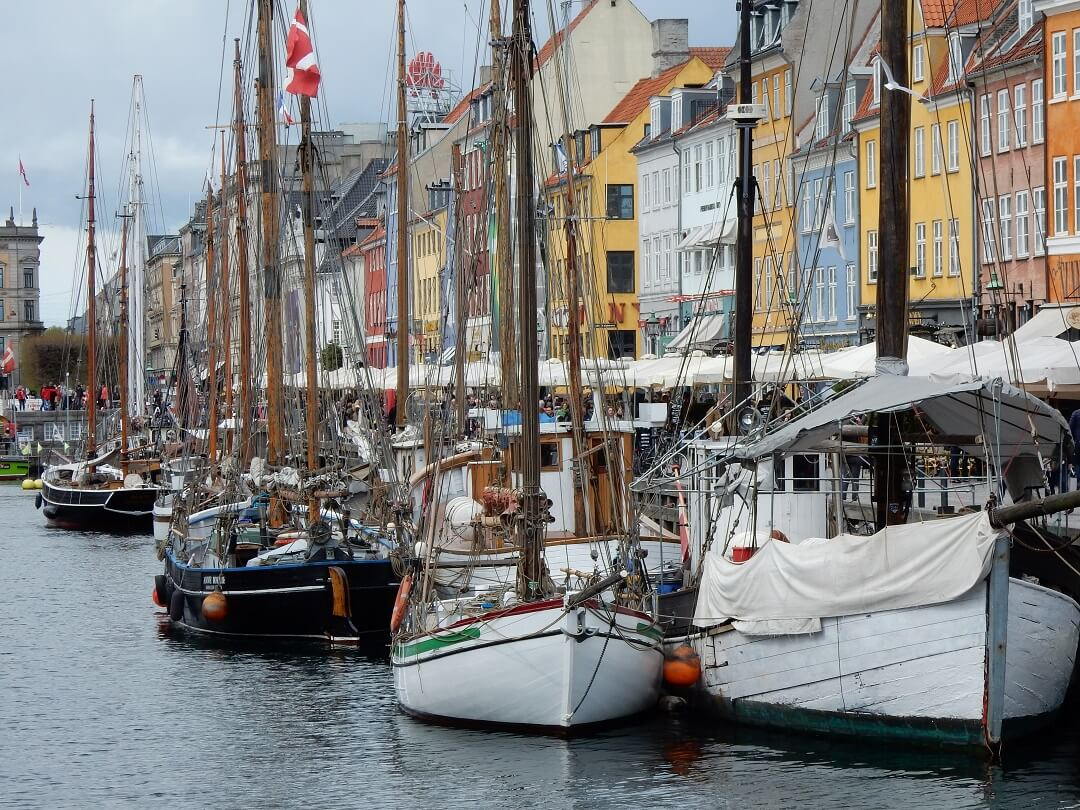 Interrail reservations in Denmark - Nyhavn