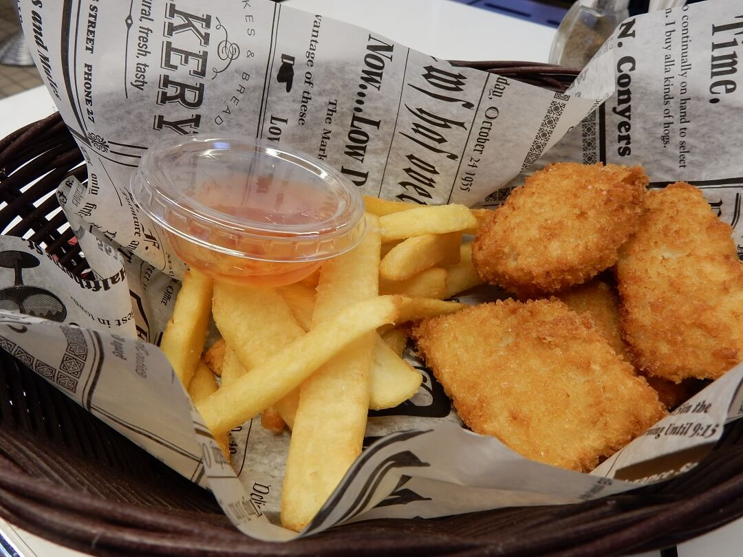 Interrail reservations in Finland - Finnish fish and chips