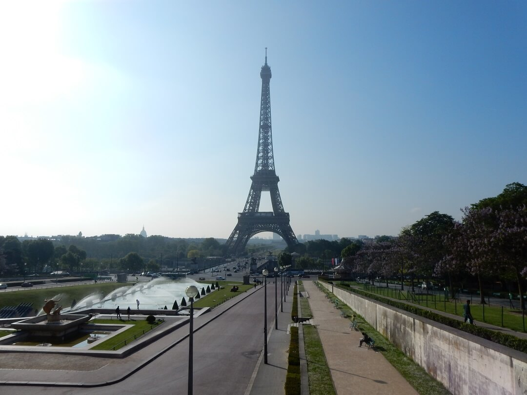 Interrail reservations in France - The Eiffel Tower
