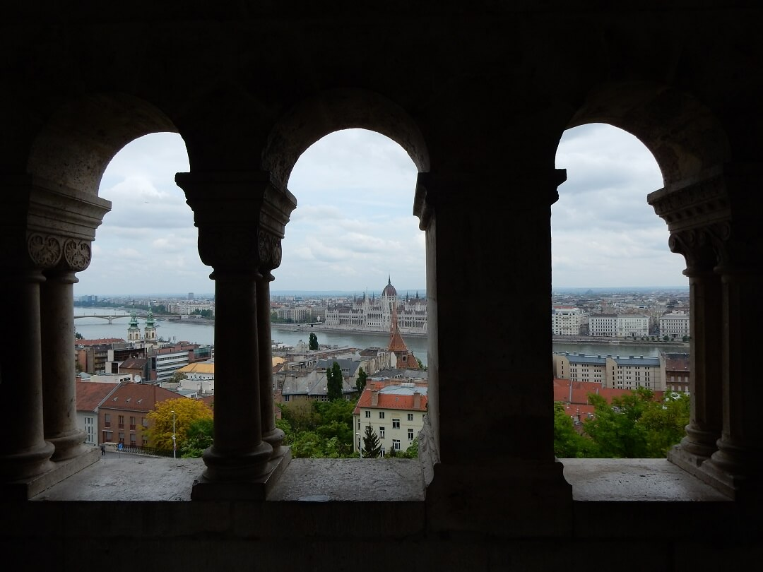 Interrail reservations in Hungary - View on Budapest
