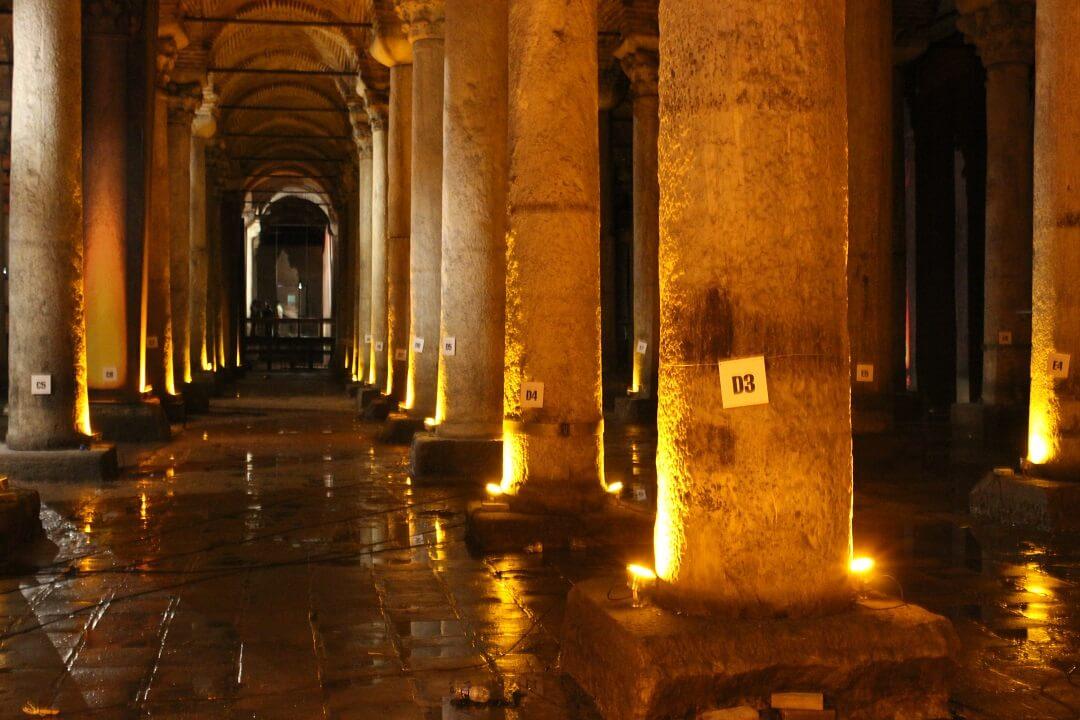 2 - Istanbul by train - Basilica Cistern