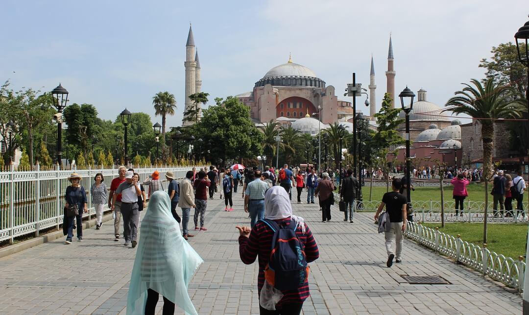 1 - Istanbul by train - Haga Sophia