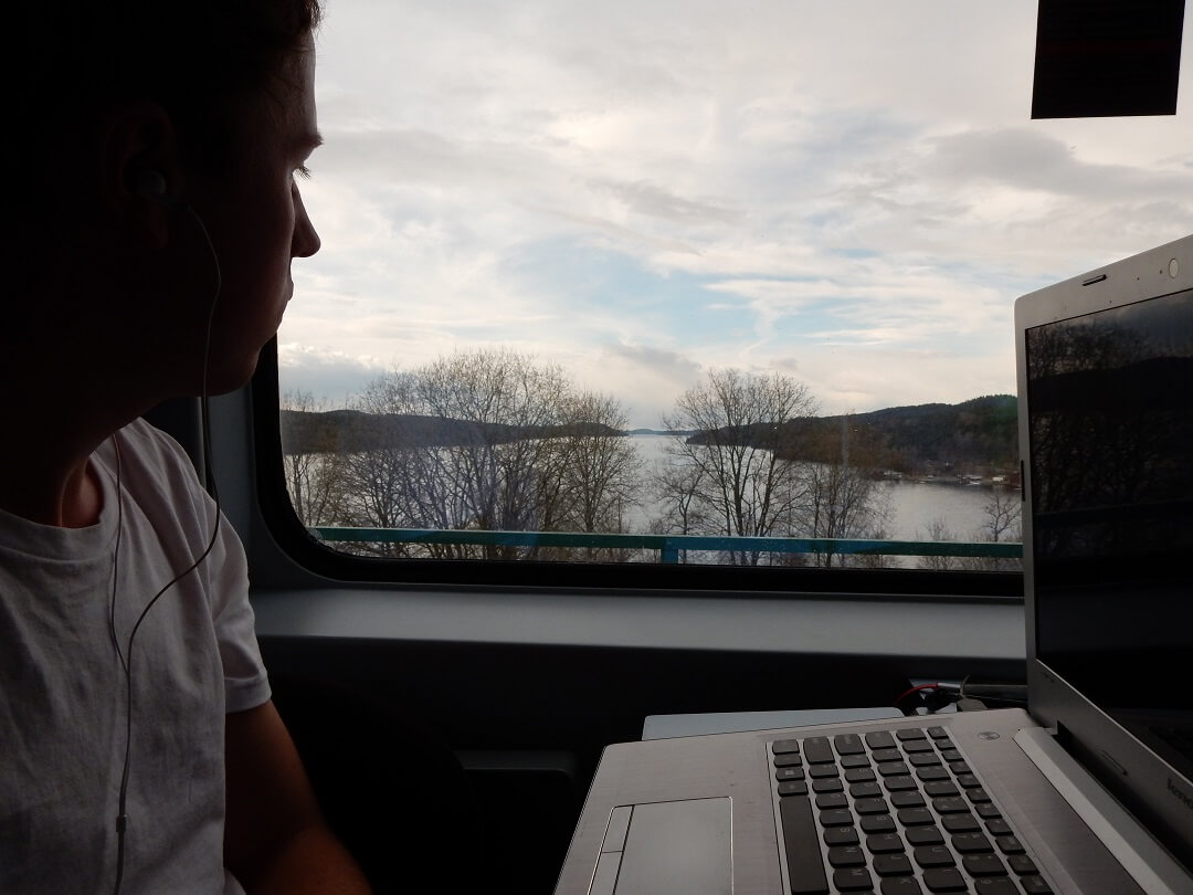 Interrail reservations in Norway - Appreciating the landscape