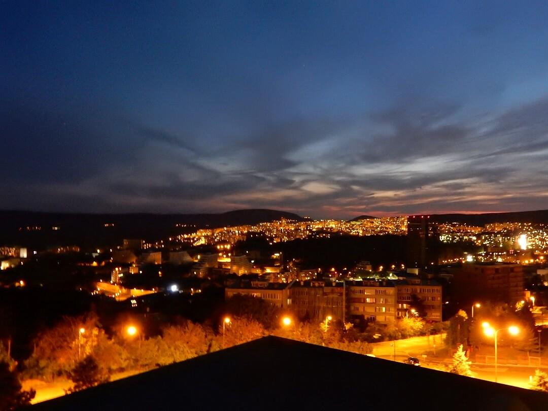 Interrail reservations in Slovakia - Bratislava by night