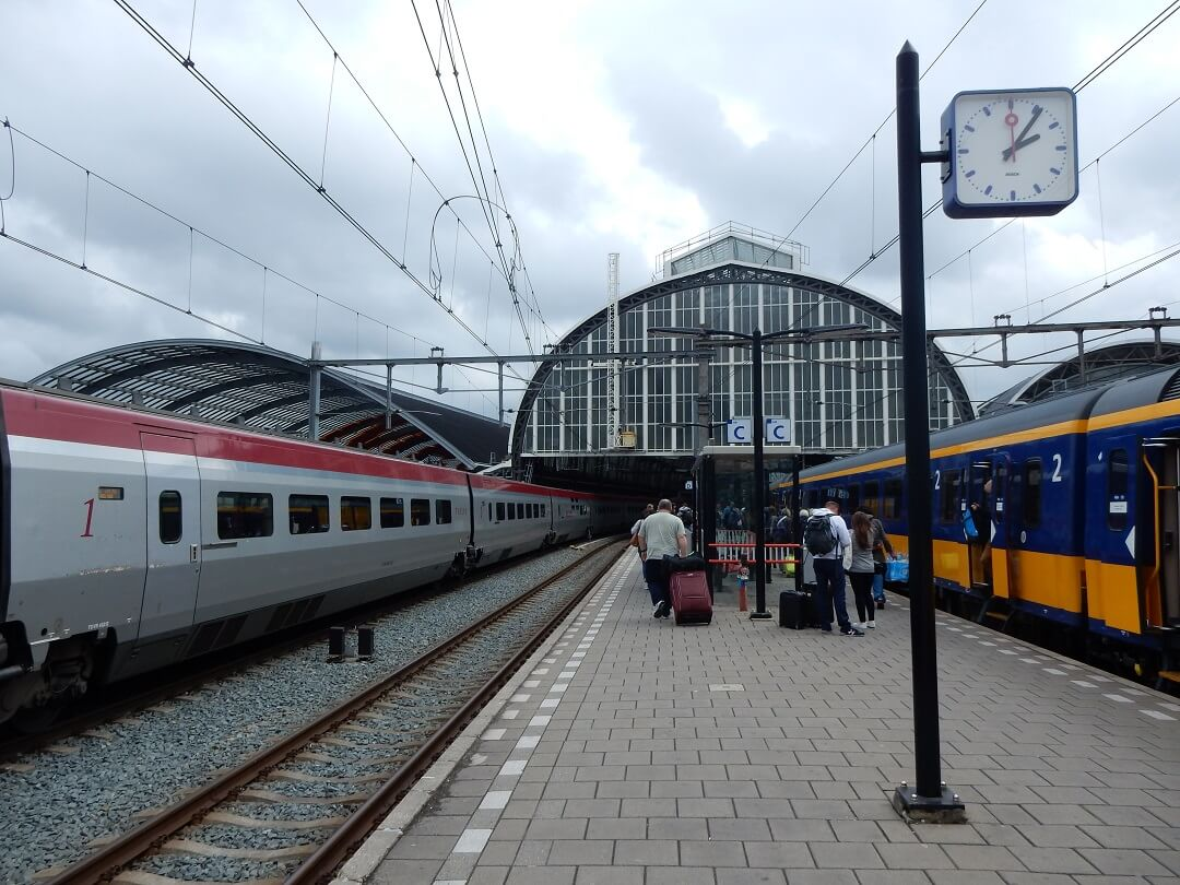 Interrail reservations in The Netherlands - 30 Days, 30 Countries challenge