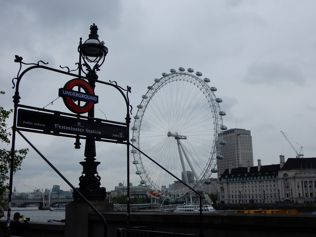 Interrail reservations in The United Kingdom - The London Eye
