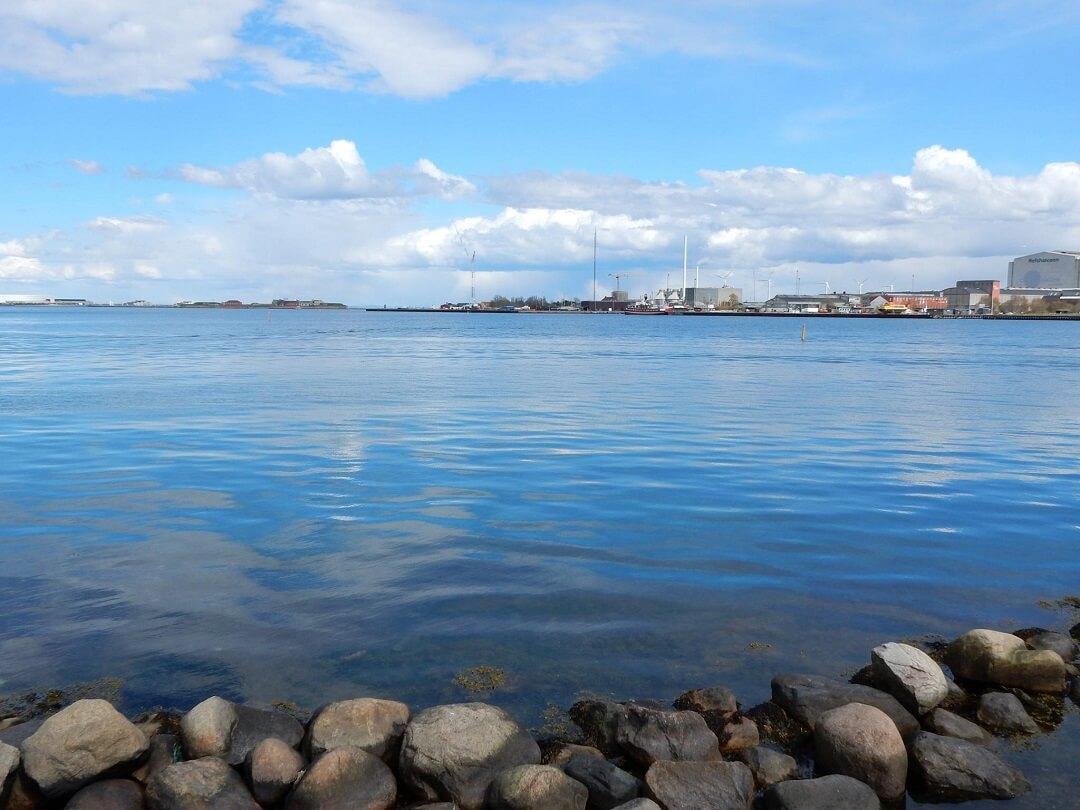 Copenhagen by train - Langelinie view