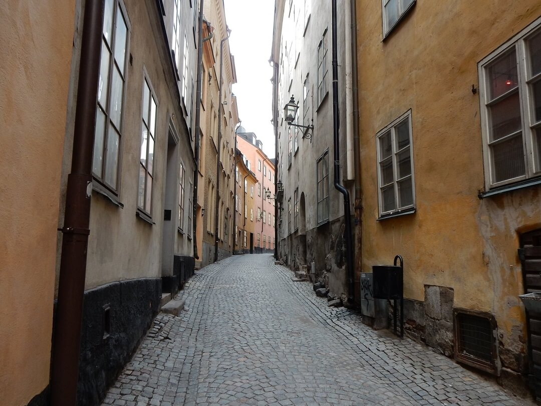 Stockholm by train - Gamla Stan, old town