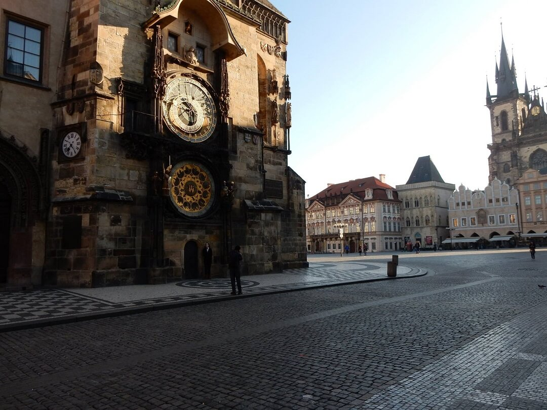 Prague by train - Beautiful Old Town