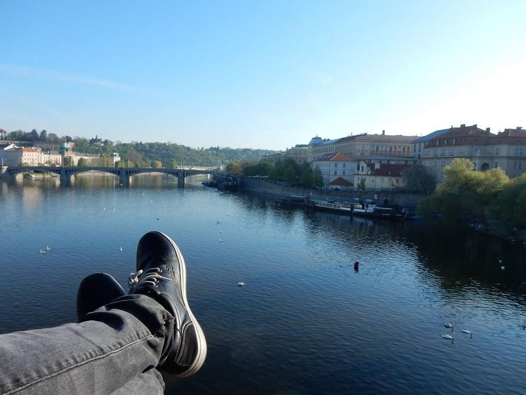 Prague by train - Prague Karluv Most
