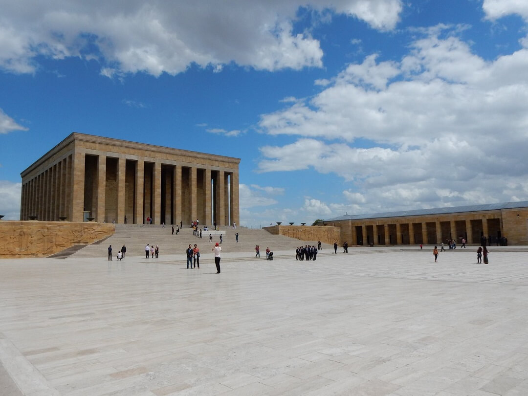 Ankara by train - Anıtkabir