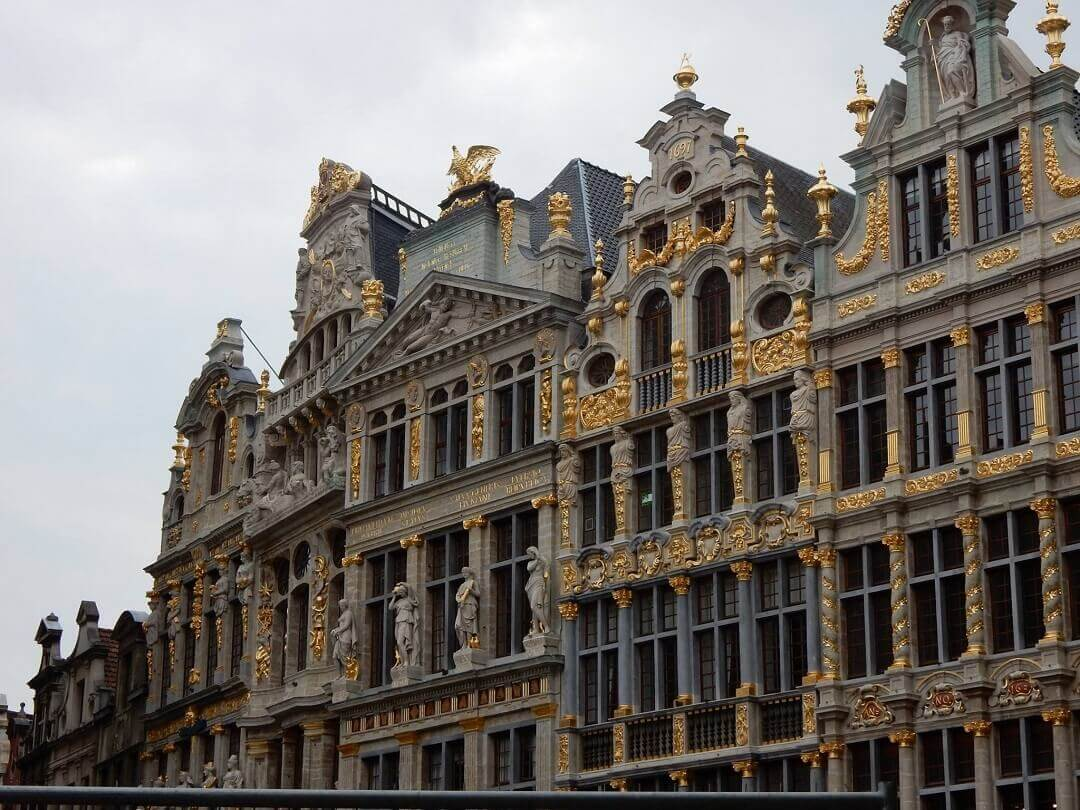Brussels by train - The 'Grote Markt'