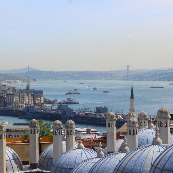 Istanbul by train - Istanbul and the Bosphorus