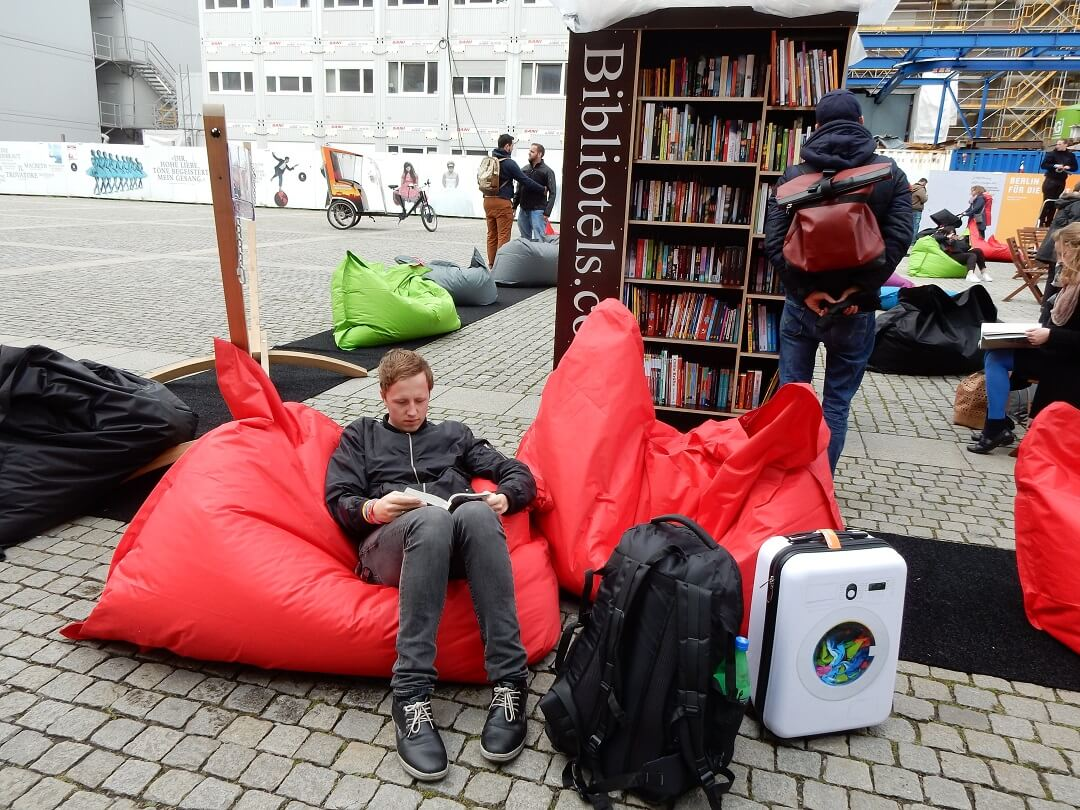 Night-Trains in Germany - Pop-up Library