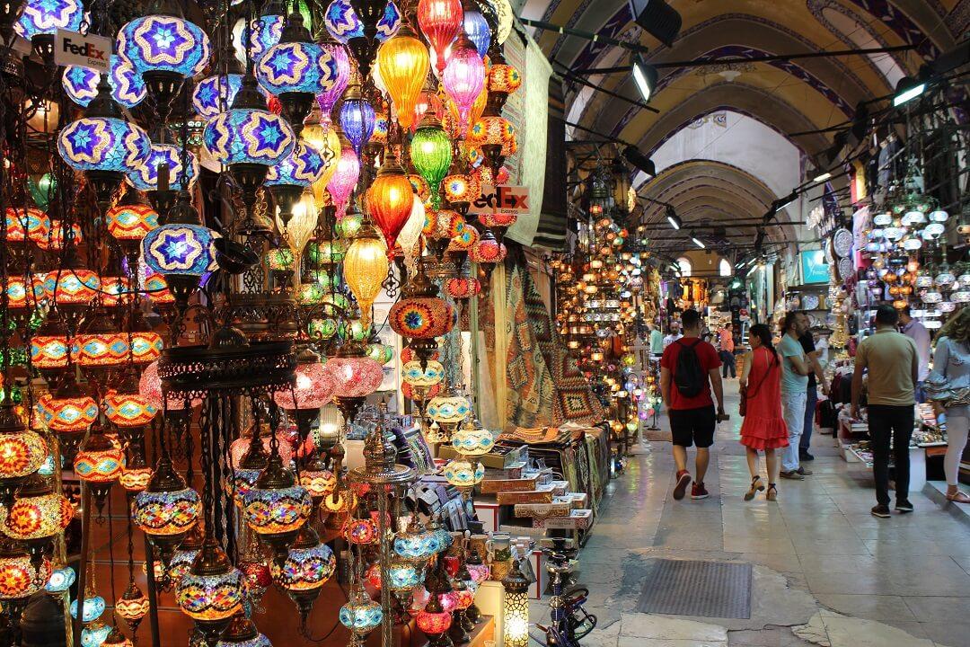 Night-Trains in Turkey - Grand Bazar Istanbul