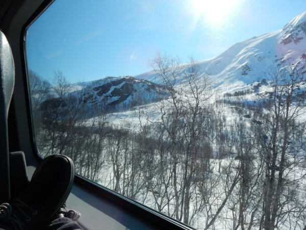 Booking accomodation - And you should also ride along the Bergen Express in Norway