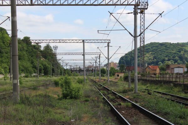 Eurail & Interrail train reservations - The train station of Sighisoara