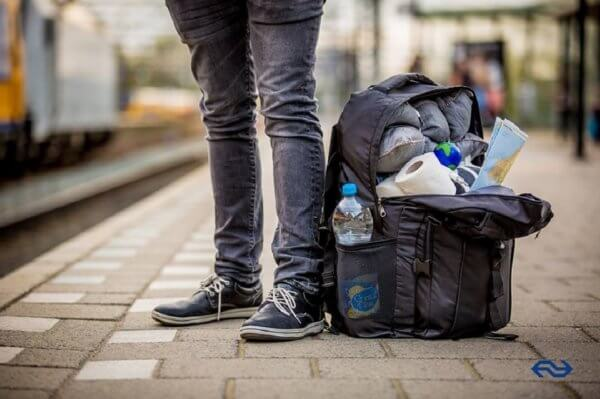 Interrail tips - My backpack