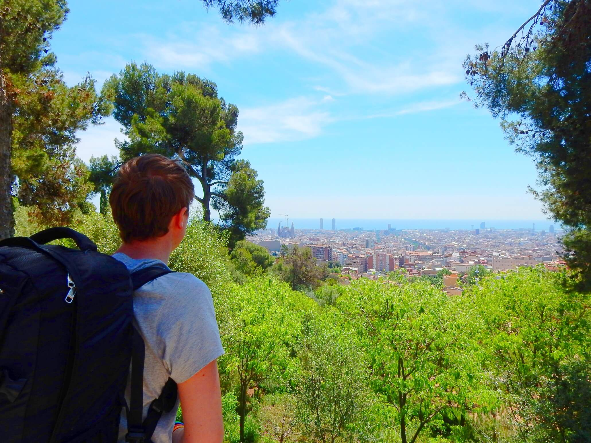 Interrailing - Cightseeing in amazing Barcelona