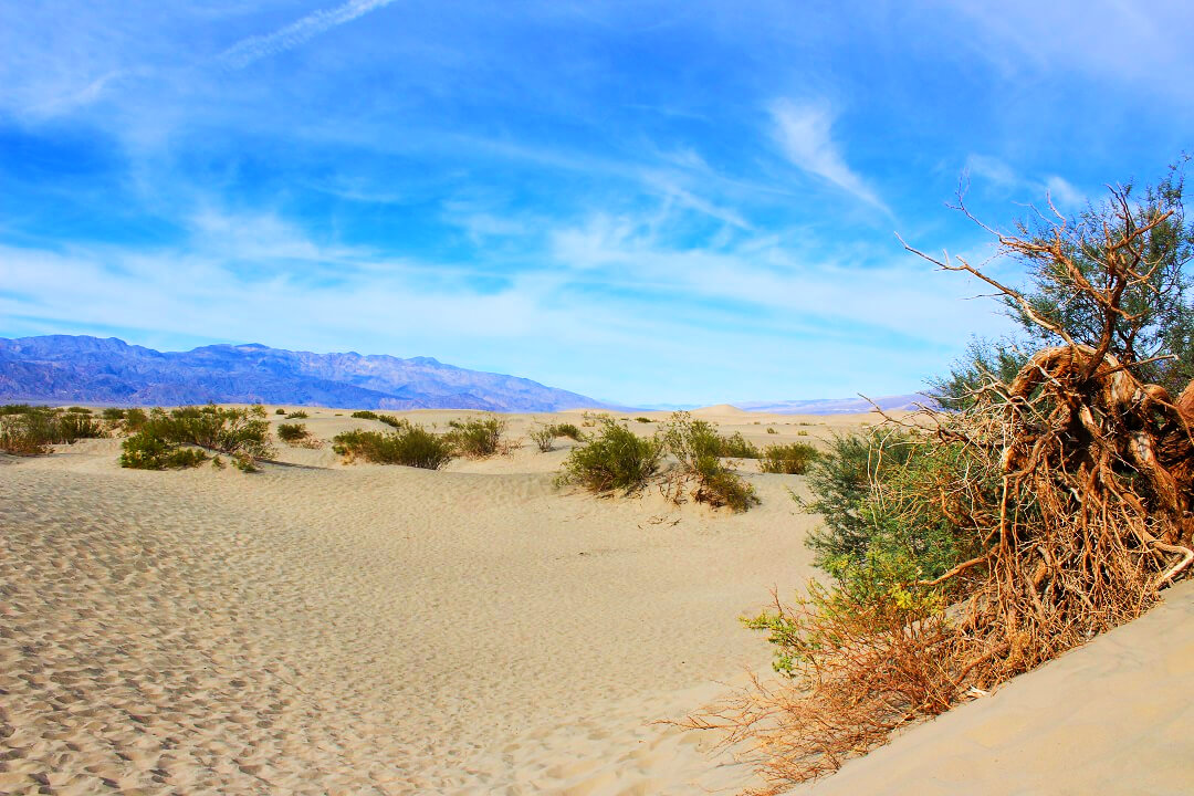 USA by train - Death Valley