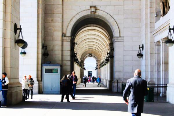 USA by train - Union Station in Washington DC