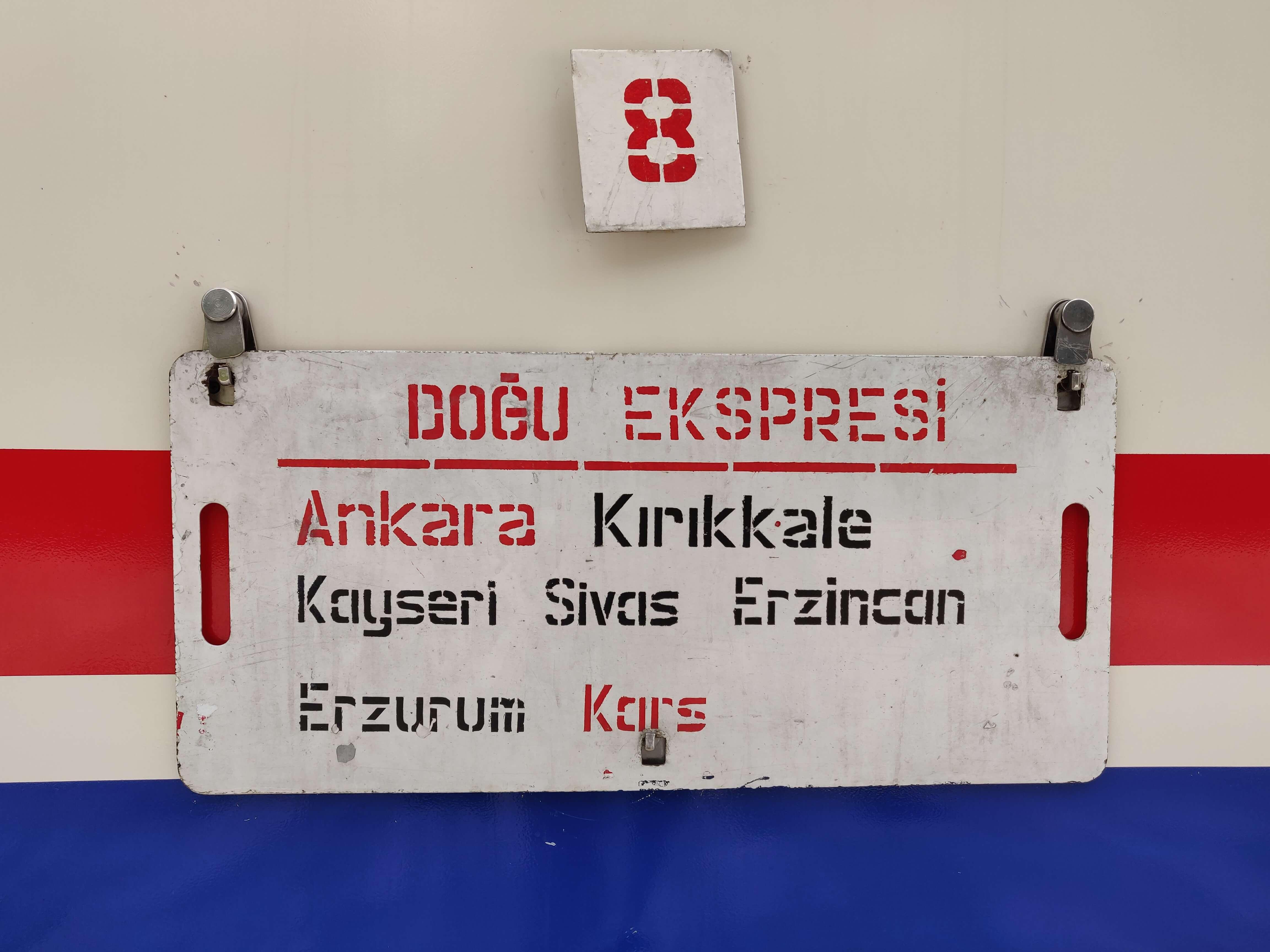 Interrailing - Adventure in east Turkey
