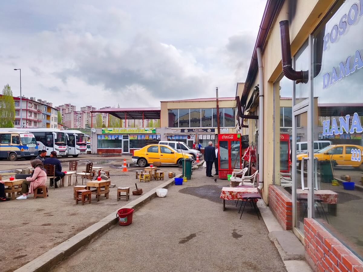 Turkey to Georgia - Kars Bus Station