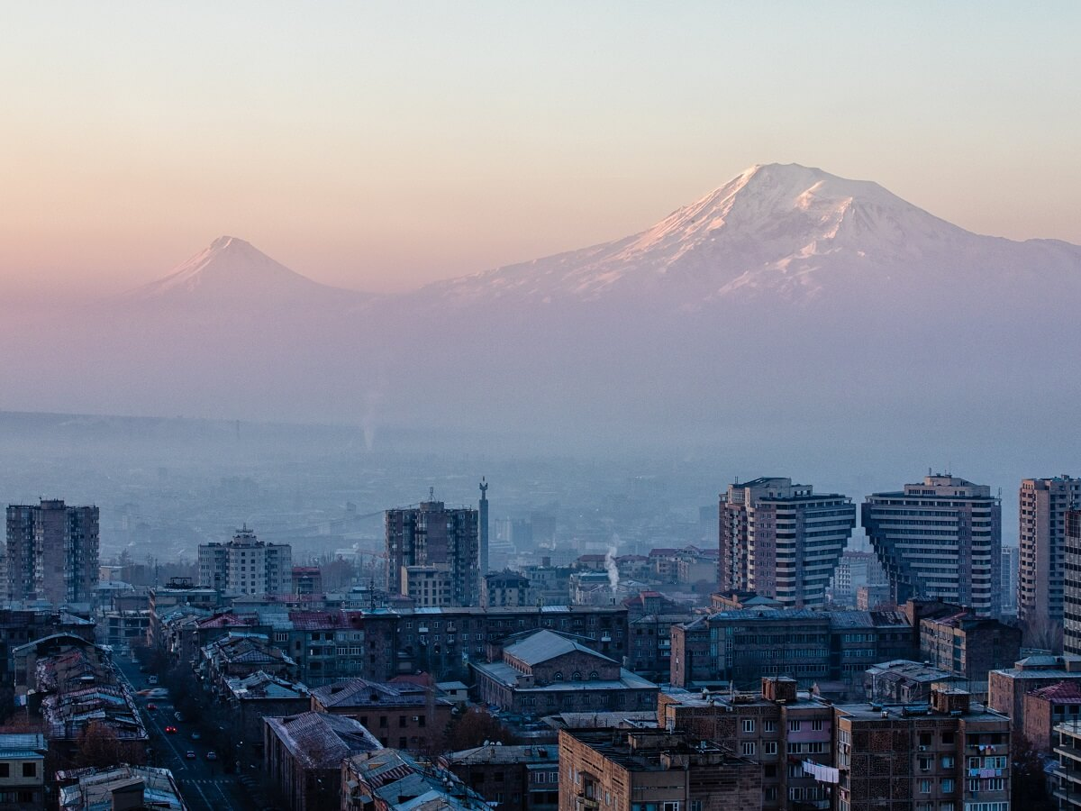 Armenia to Georgia - The breathtaking city of Yerevan - Photo by Artak Petrosyan on Unsplash