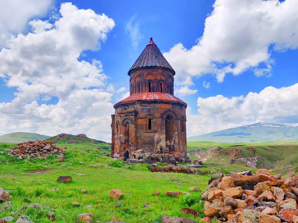 Armenia to Georgia - The ruins of ancient Armenian capital Ani - Surb Prkich