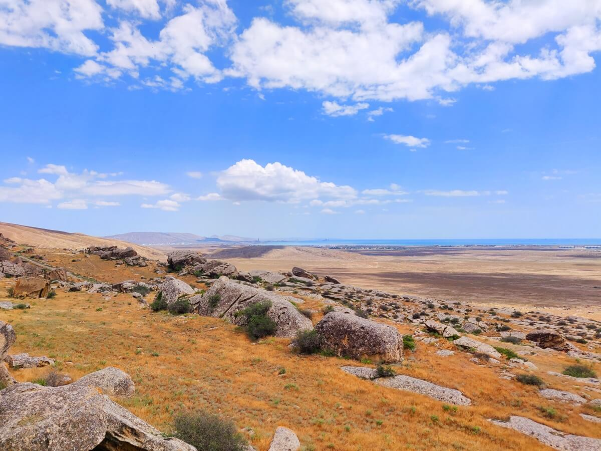 Azerbaijan to Georgia - The diverse landscape of eastern Azerbaijan