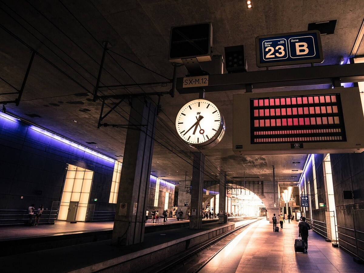 Night Trains in Belgium - Image by Rudy and Peter Skitterians from Pixabay